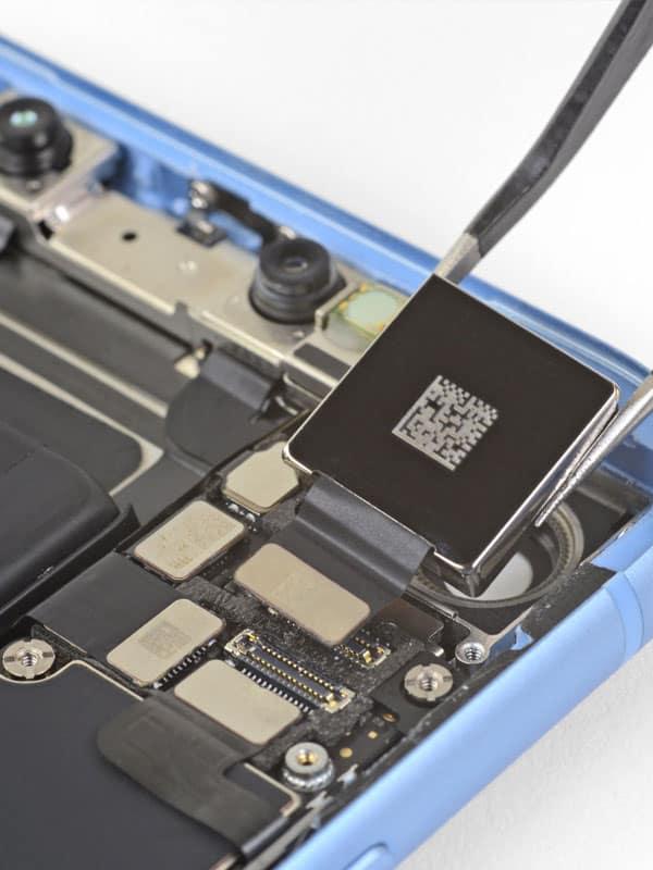 Desmontaje chip smartphone