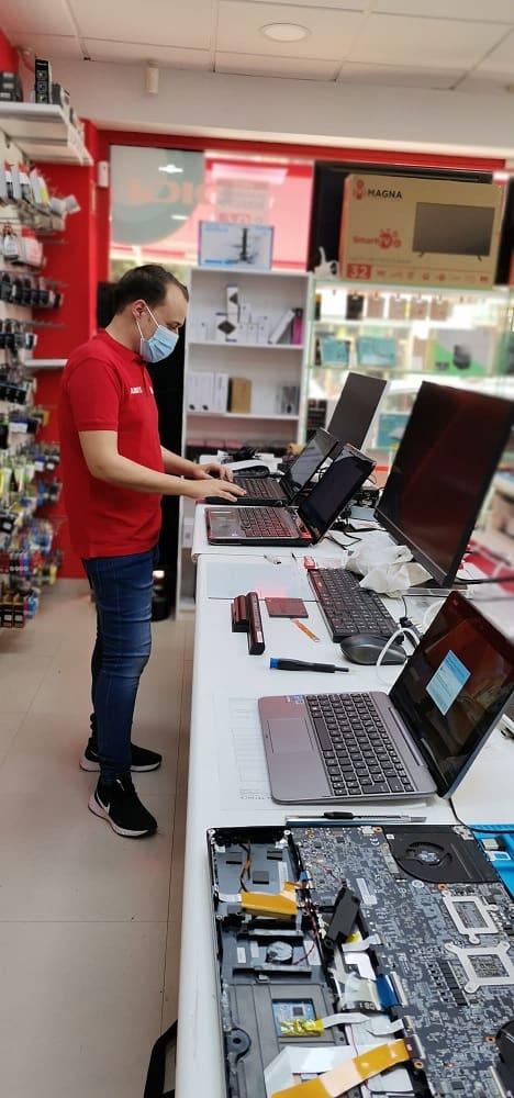 Reparaciones ordenadores portátiles Almería